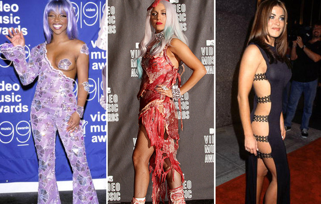 The Wildest Fashions of MTV Video Music Awards' Past!
