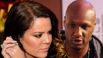 Lamar Odom -- RETURNS HOME TO KHLOE KARDASHIAN ... 'Listening to Reason'
