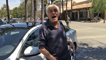 Dick Van Dyke -- BACK ON THE ROAD ... After Last Car Exploded