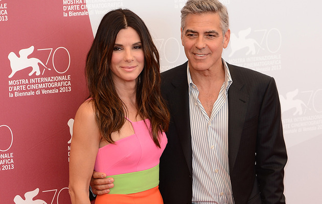 Sandra Bullock Stuns with George Clooney at Venice Film Fest