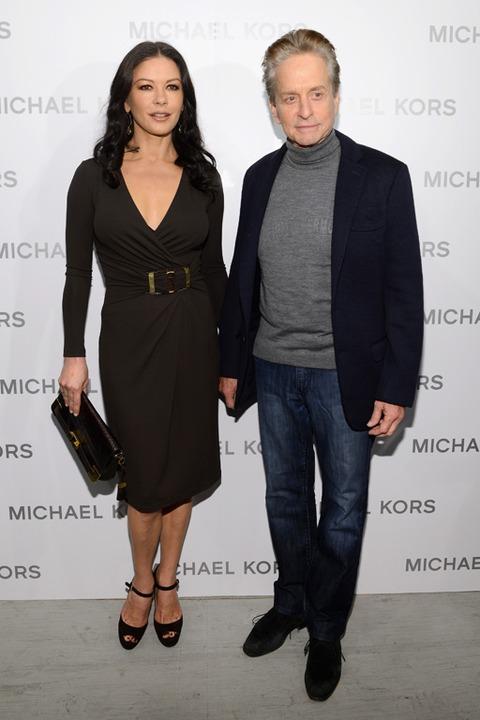 Michael Douglas And Catherine Zeta Jones 2013