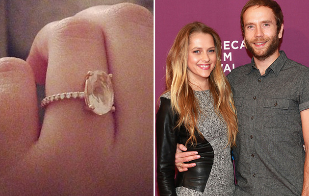 Teresa Palmer Shows Off Gorgeous Engagement Ring
