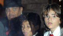 MJ's Funeral -- The Stars Arrive