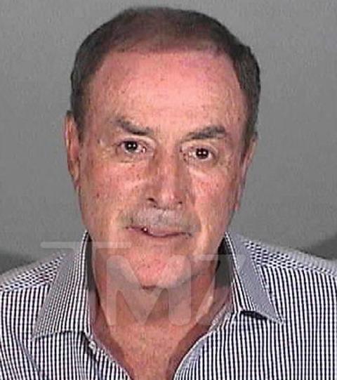 Al Michaels was arrested in Santa Monica in 2013