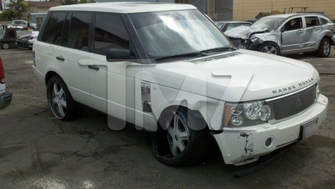 Jenna Jameson smashed her Range Rover into a pole in Orange County, CA  and was arrested for a DUI