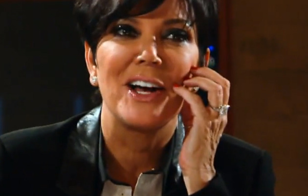 Kris Jenner Reveals She and Bruce Made a Sex Tape