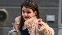 Suri Cruise -- Oww, I Broke My Arm!