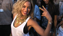 Beyoncé -- Recruits TMZ Guy for Music Video