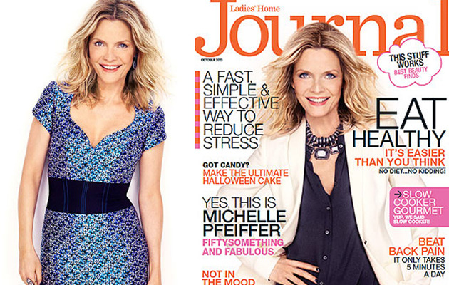 Michelle Pfeiffer Talks Acting Hiatus & Aging in Hollywood!