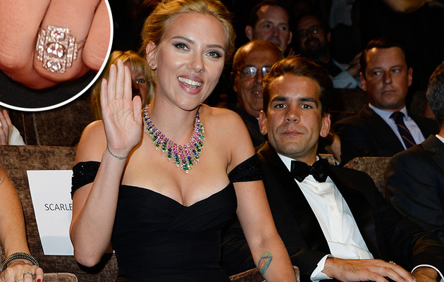 Scarlett Johansson Reportedly Engaged to Romain Dauriac