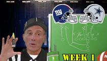 Harvey Levin Picks NFL Winner -- 'Football Is a Theatrical Sport'