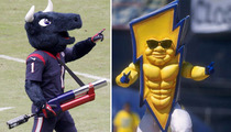 Monday Night Football -- Texans vs. Chargers Mascot ... Who'd Win in a Fight?