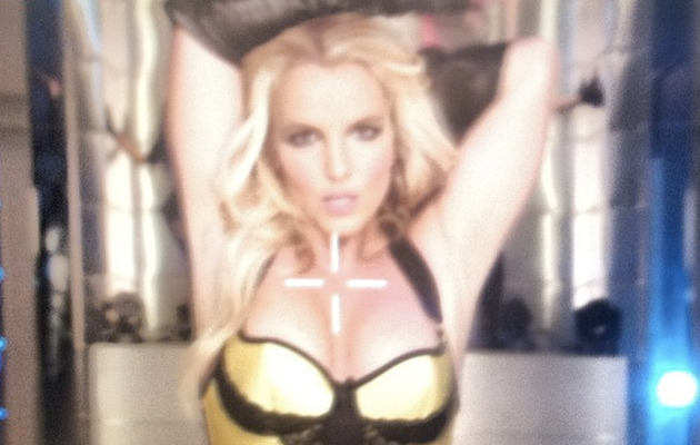 "Britney Spears Shares Sexy Shots from ""Work Bitch"" Music Video"