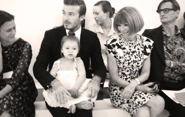 """All Eyes"" on Harper Beckham at Fashion Week"