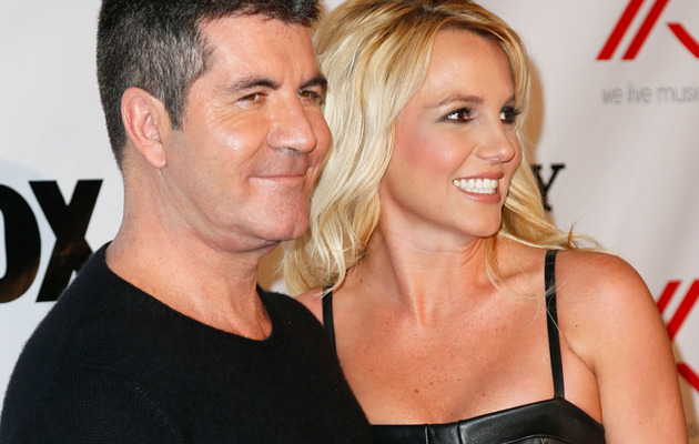 "Simon Cowell Says Britney Spears Was ""Uncomfortable"" on ""X Factor"""