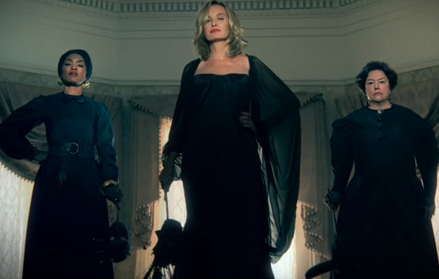"Jessica Lange Returns In ""American Horror Story: Coven"" Promo"