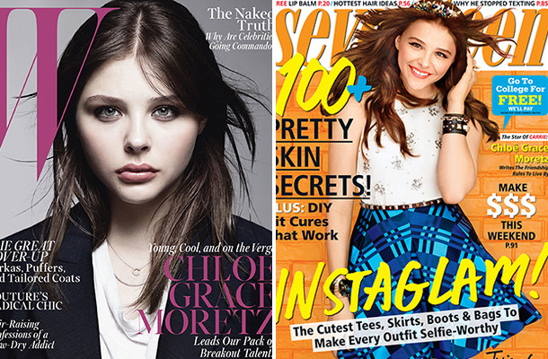 Chloe Grace Moretz Covers Two October Magazines!