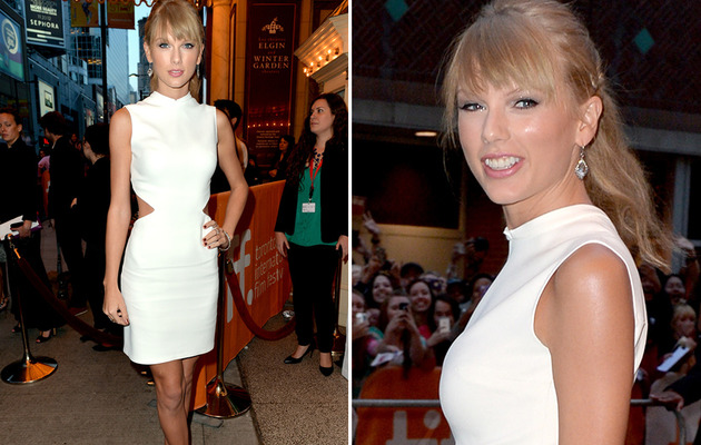 Taylor Swift Shows Skin at Toronto Film Festival!