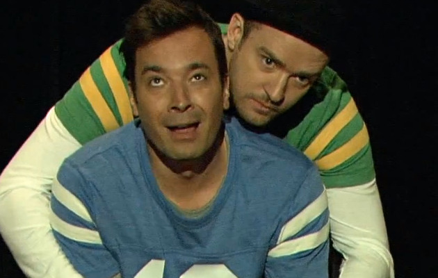 Jimmy Fallon & Justin Timberlake Make Hilarious End Zone Dance Video