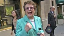 Billie Jean King -- Mafia Didn't Rig Tennis Match ... I Beat Bobby Riggs Fair & Square