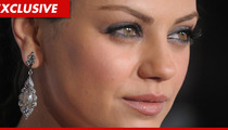 Mila Kunis' Cell Phone Hacked -- Justin Timberlake Photos Leaked