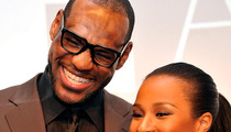 Lebron James -- Marries High School Sweetheart ... Beyonce Sings at After Party
