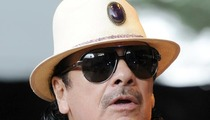 Carlos Santana -- Crashes Into Parked Car In Vegas