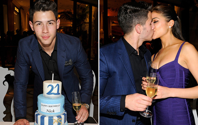 Nick Jonas Turns 21 -- Details on First Drink & Girlfriend PDA!