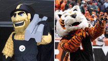 Monday Night Football -- Steelers vs. Bengals (Mascots) Who'd Win in a Fight?