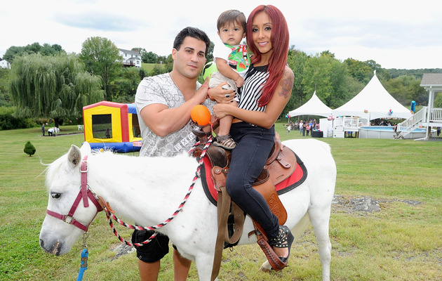 Snooki Celebrates Lorenzo's First Birthday ... Again!