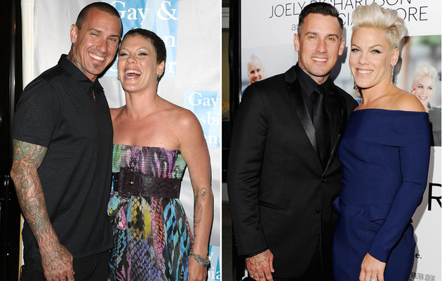 Damn ... Carey Hart and Pink Clean Up Real Nice!
