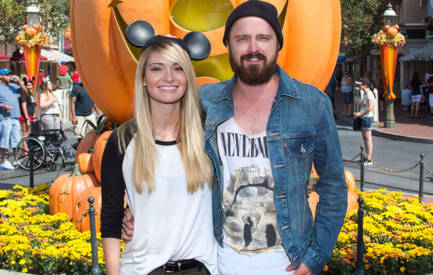 "Aaron Paul Visits Disney After Most Intense ""Breaking Bad"" Yet"