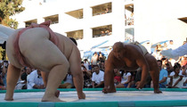 INSANE SUMO HIGHLIGHT -- Fat Guy In Diaper Slams Other Fat Guy In Diaper