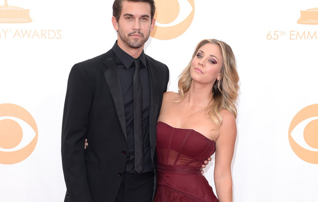 Kaley Cuoco Brings New Boyfriend to the Emmys -- Who Is He?