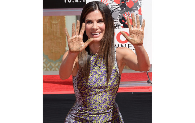 Sandra Bullock Immortalized In Hollywood!