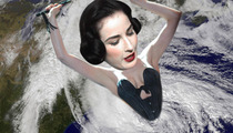 Dita Von Teese Sues Over Hurricane Sandy -- Blow Me