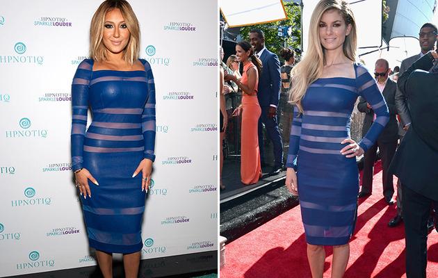 Dueling Dresses: Adrienne Bailon vs. Marisa Miller