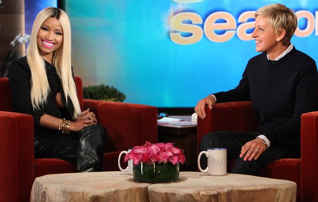Ellen DeGeneres Calls Out Nicki Minaj For Not Wearing a Bra!
