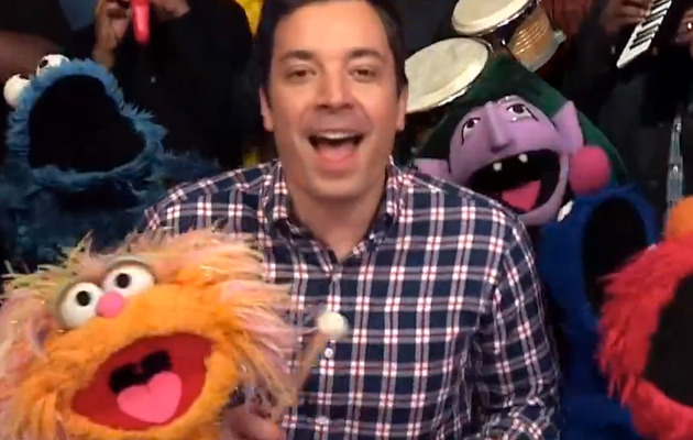 "Video: Jimmy Fallon & Muppets Sing ""Sesame Street"" Theme Song"
