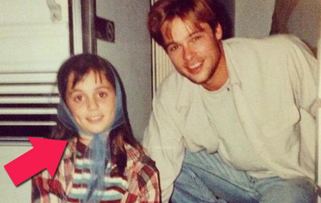 Throwback Thursday: See Eliza Dushku as a Cute Kid with Brad Pitt!