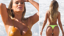 Miss Butt Brazil Model -- Whoops! Lost My Bikini Top