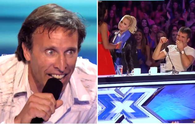 """X Factor"" Recap: Simon Calls Contestant a ""Lunatic,"" Demi Twerks!"