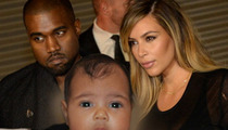 Kim Kardashian and Kanye West Didn't Fly North West To Paris