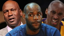 Michael Jordan -- I'd DESTROY LeBron James in 1-on-1 ... But Not Kobe Bryant