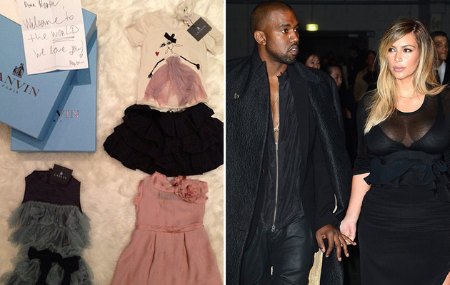 Kim Kardashian Shows Off Designer Baby Gifts for North West