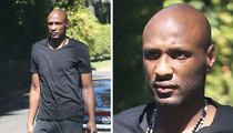 Lamar Odom -- Shows Up To See Khloe Kardashian -- Looking Very Thin