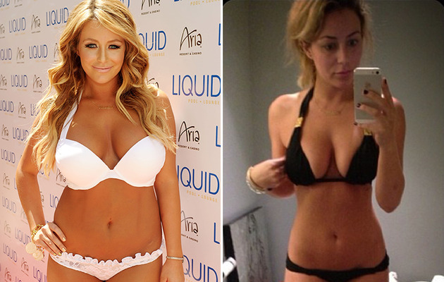 Aubrey O'Day Shows Off Slim Figure In New Bikini Pic