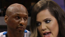 Lamar Odom/Khloe Kardashian Showdown Over Drugs