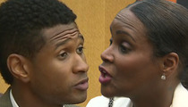 Usher vs. Tameka -- If You Won't See Me ... I'll See You In Court