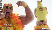 Hulk Hogan -- MAN THONGIN' ... In Miley Cyrus Spoof Video